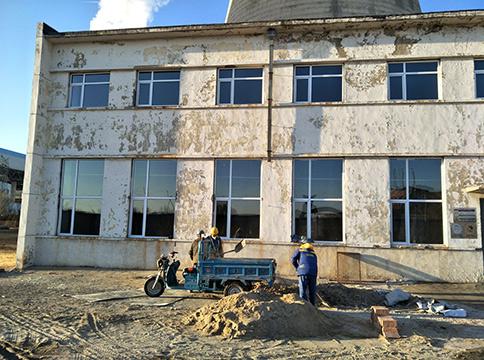 工厂塑钢门窗