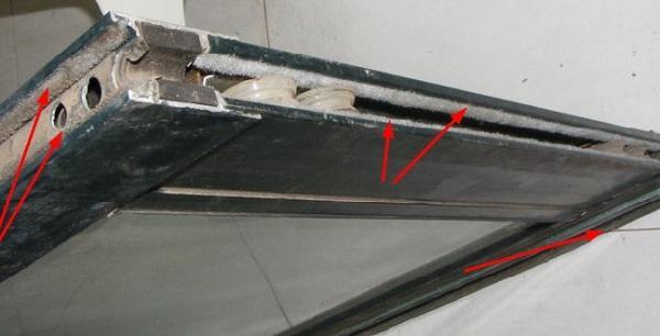 贝博西甲断桥铝门窗出现漏风的原因